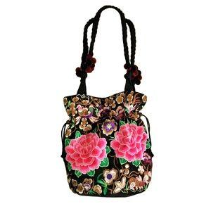 Handbags - Hand-Embroidered Bag NWOT